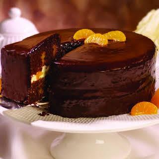 Chocolate Orange Cake.