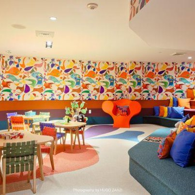 Photo: Makes us want to be a kid again! The Paramount Bay Children's Room—complete with a nanny cam.
