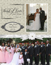 Photo: Created 11/23/04 using DSPs Cream Wedding Kit. Word Art by Doodle Delights