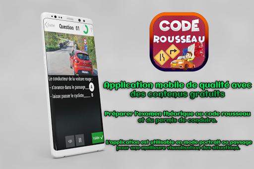 Code Rousseau 2018 - Code de la route France 2018  screenshots 3