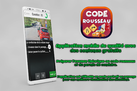 code rousseau 2018 code de la route france 2018 android apps on google play. Black Bedroom Furniture Sets. Home Design Ideas