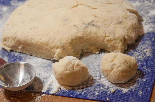 Here's what my dough looked like...