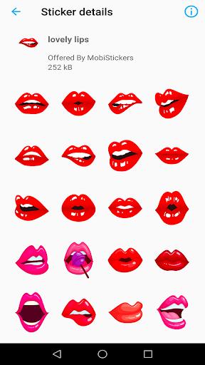 WAStickerApps Kiss 1.0 screenshots 2