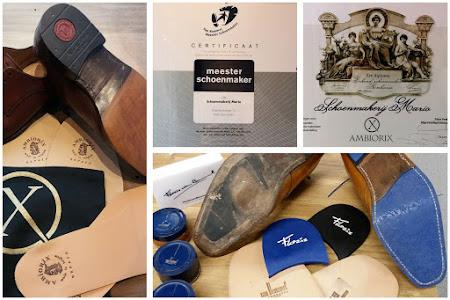 Herstellen van Bommel en Ambiorix schoenen