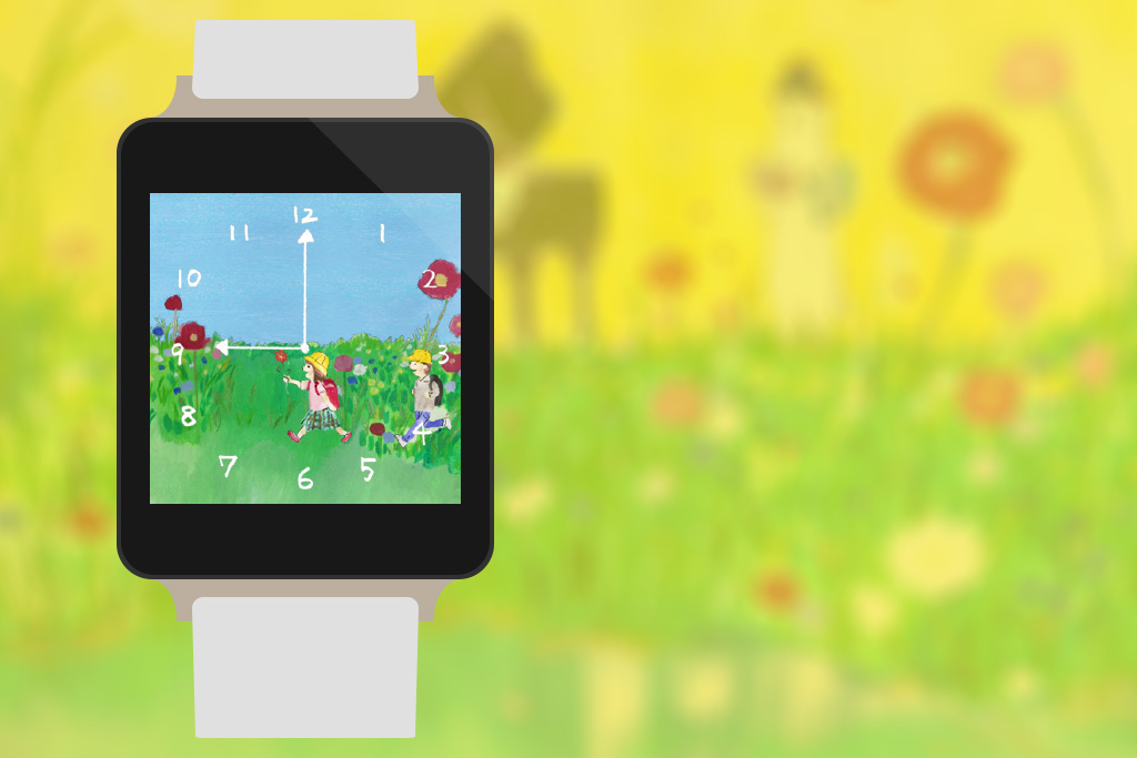 Picture Book Watch Face- screenshot