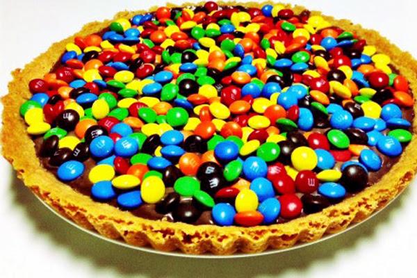 Torta Gelada de M&M's