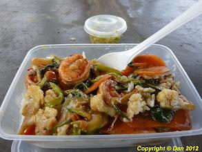 Photo: Shop suey aux crevettes