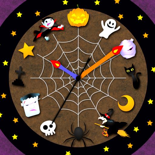 ハロウィン時計 ライブ壁紙 個人化 App LOGO-硬是要APP