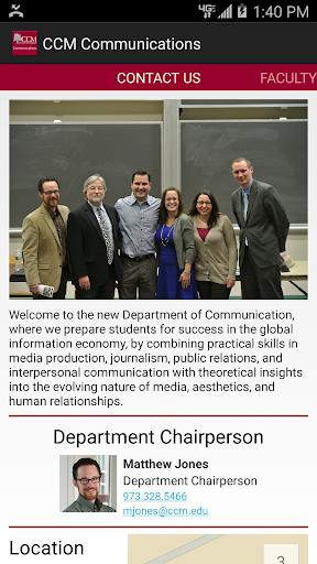 CCM Communication Department