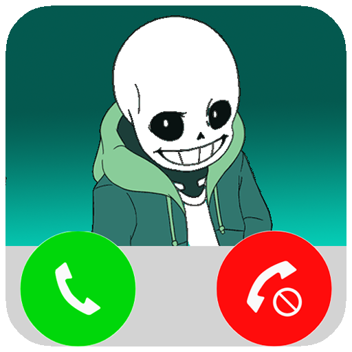 Fake Call From Sans