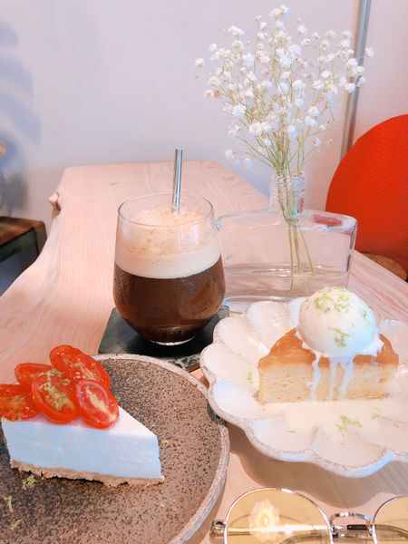 花蓮美食!惦惦咖啡 享受慢活 每日限量手工甜點超好吃