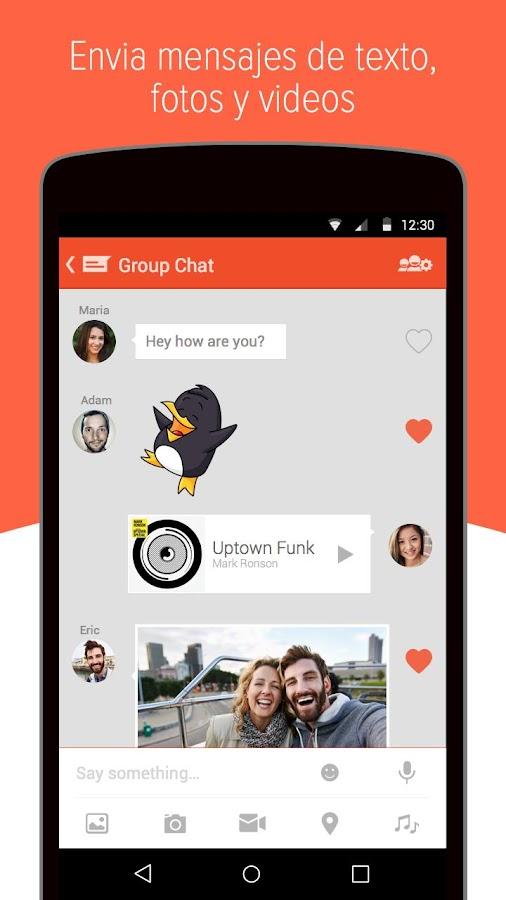 Tango - Chat y Llamadas Gratis: captura de pantalla
