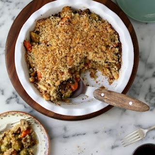 Roasted Vegetable Winter Crumble