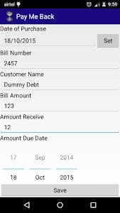 Pay Me Back (Business Debt) screenshot 1