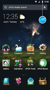Music|APUS Launcher theme- screenshot thumbnail
