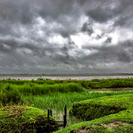 Thunderstorms  by Subhajit Sanyal - Landscapes Cloud Formations