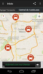 Red Transporte DF- screenshot thumbnail