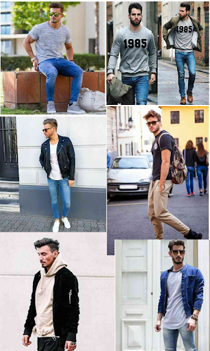 Street Fashion Men Swag Style 1.0 screenshots 9