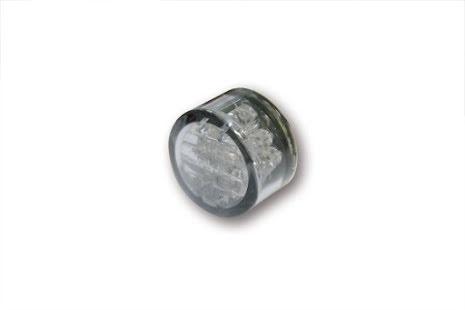 Micro Pin Blinkers, LED. 18mm, par.