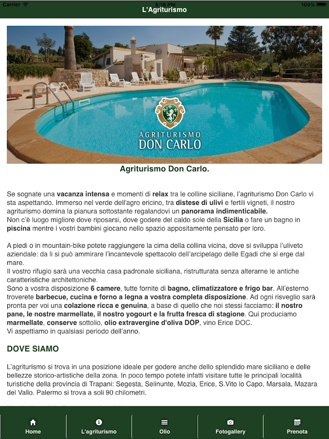 Agriturismo Don Carlo- screenshot