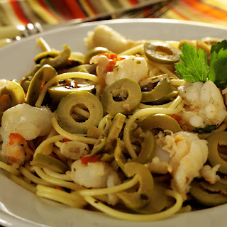 Shrimp and Olive Pasta Recipe
