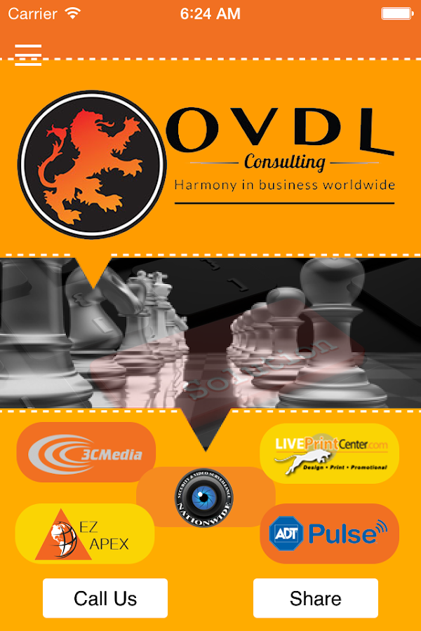 OvdL Consulting- screenshot