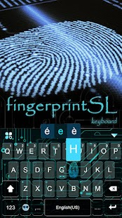FingerprintSL Keyboard theme - New theme - náhled