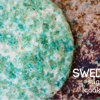 Swedish Sugar Cookies.