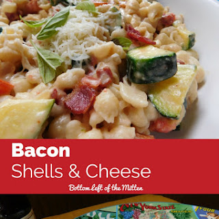 Bacon Shells & Cheese