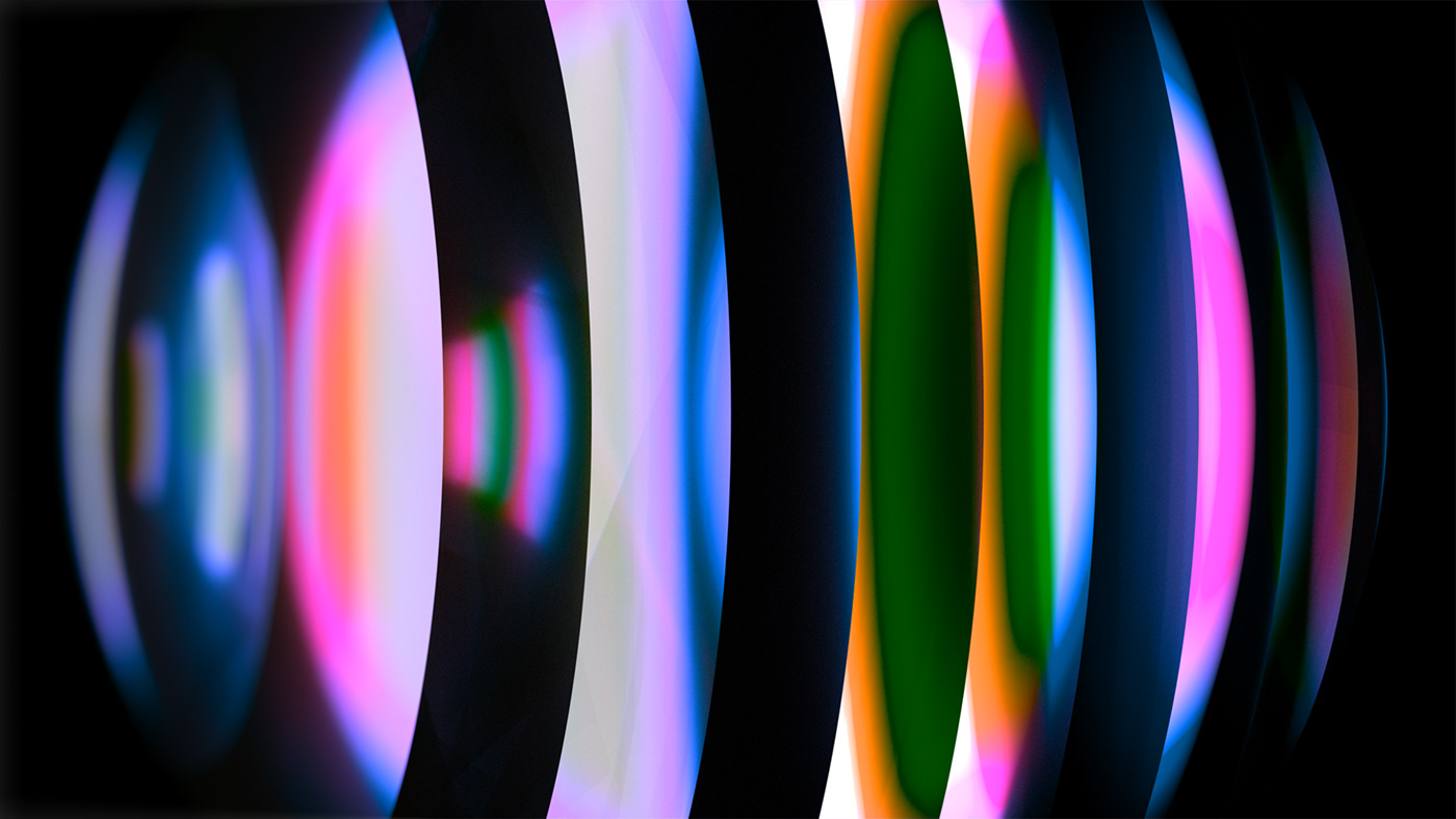 3D abstract animation  buck color design octane Space  spheres styleframes