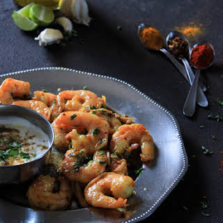 10 minute Chilli Garlic Prawns.