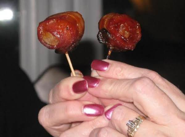 Spicy Bacon Wrapped Water Chestnuts Recipe