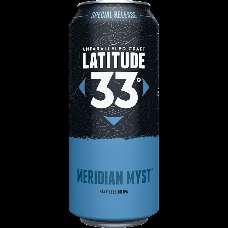 Logo of Latitude 33 Meridian Myst Hazy Session IPA