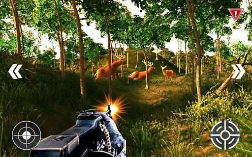 鹿狩猎 - 狙击射手