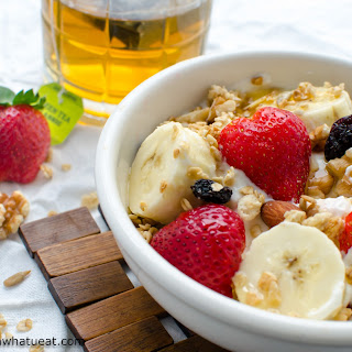Greek Yogurt Breakfast Bowl.