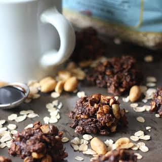 Peanut Butter Oatmeal Blackstrap Molasses Breakfast Cookies.