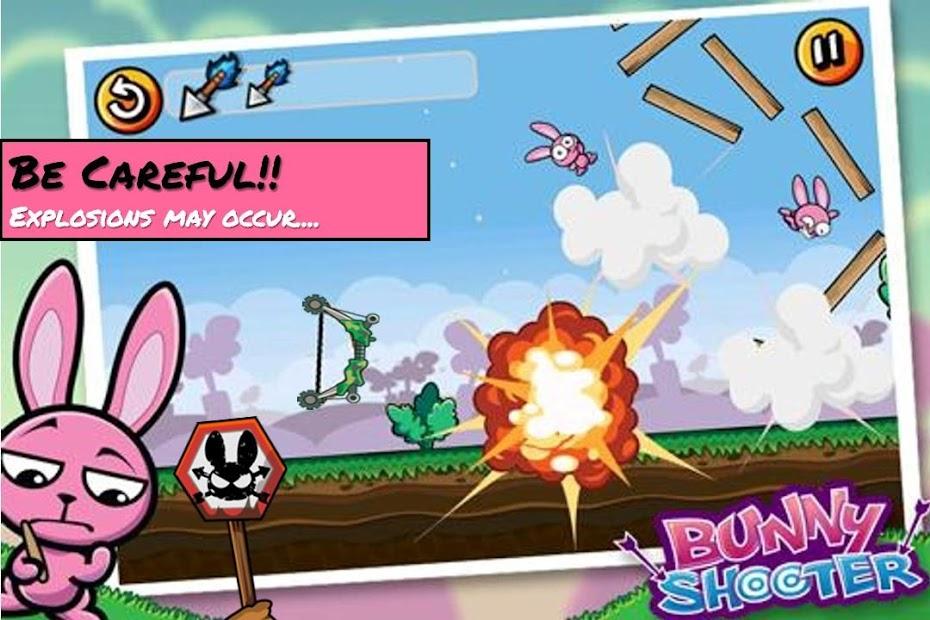 Bunny Shooter Free Funny Archery Game screenshot 7