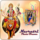 Navratri Photo Frame 2017