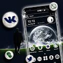 Moon Night Launcher Theme icon