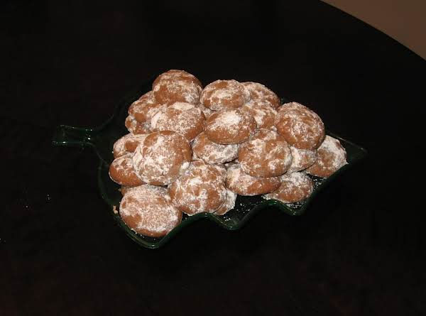 Chocolate Hazlenut Cookies