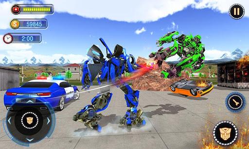 US Robot Car Transform - Police Robot Fighting 1.0.1 screenshots 4
