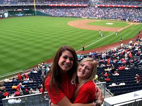 Photo: Nats game with Mary, Washington, D.C.