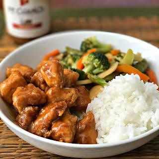 Simple Sesame Chicken.