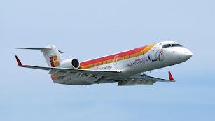 Al avión Almería-Sevilla de esta mañana le ha costado despegar.