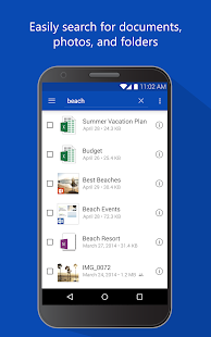 OneDrive – cloud storage- screenshot thumbnail