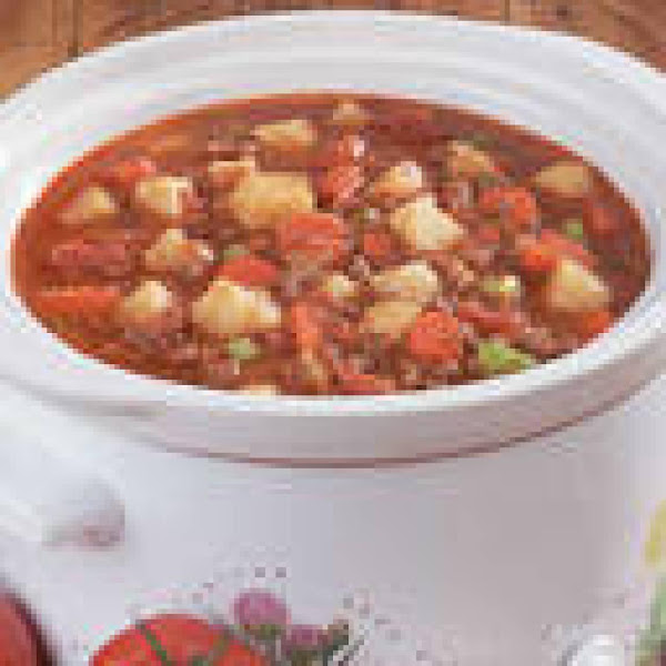Great Vegetable Summer (or Winter) Soup Recipe