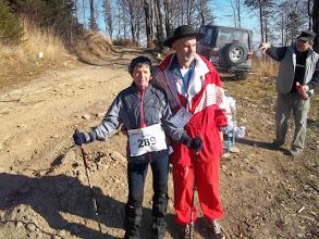 Zdjęcie: Pamiątkowe zdjęcie Komandora z Michaliną na pż Sebka i Jurka na 21 km !