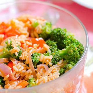 Rice and Veggie Bowl [Vegan].