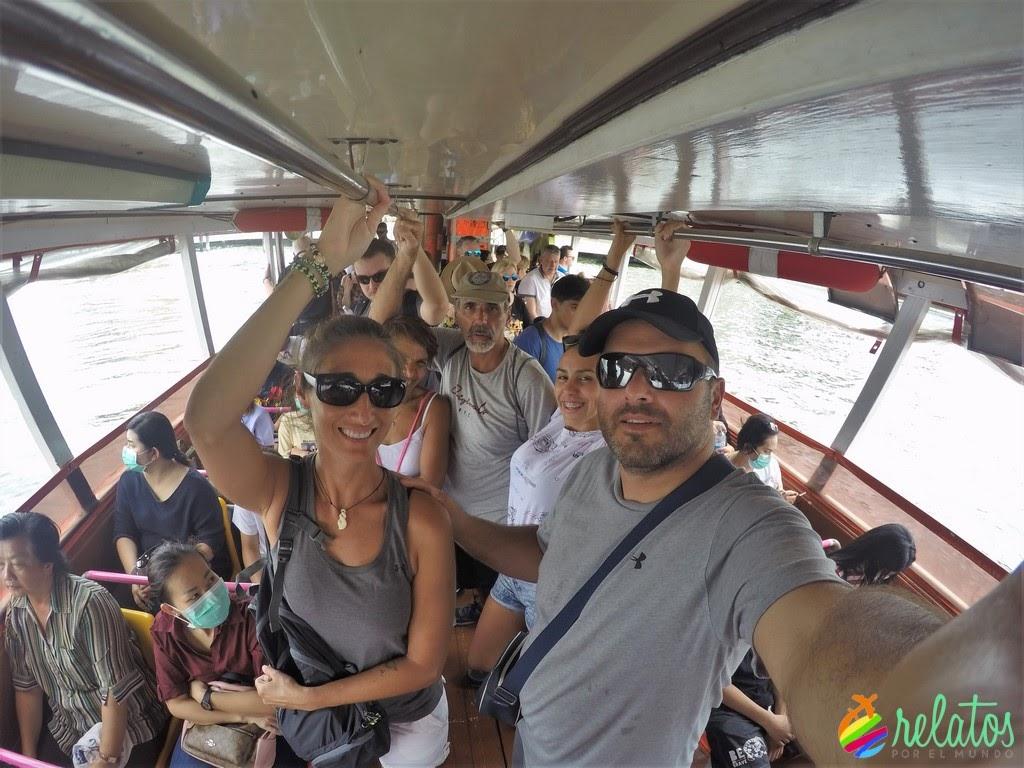 Ferry Río Chao Phraya