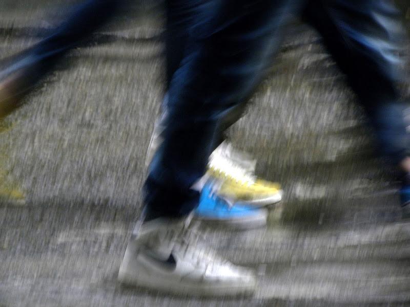 Scarpe in movimento di Iskander08